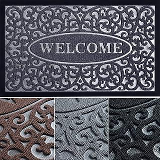 Welcome Mats for Front Door - Absorbing Door Mats for Home Entrance Outdoor - Stylish Welcome Mat - Indoor Door Mat - 30x1...