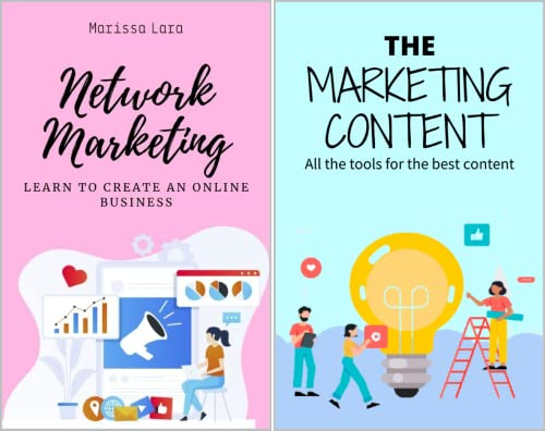 Everything for digital marketing and online money in English (2 Book Series)
