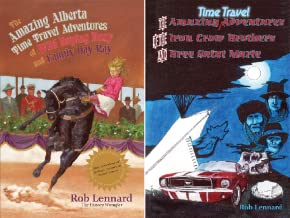 Amazing Alberta Time Travel Adventures (2 Book Series)