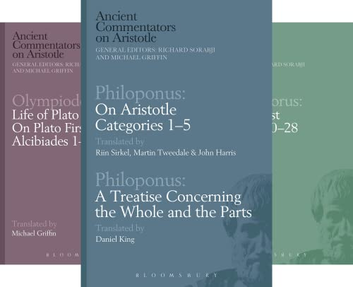 Ancient Commentators on Aristotle (10 Book Series)