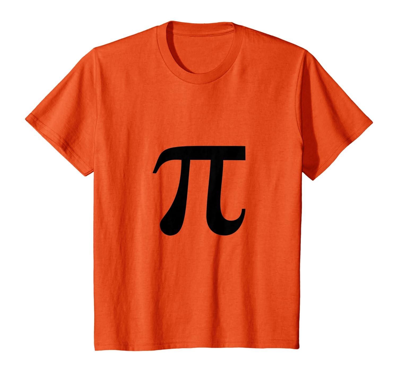 Pumpkin Pi Pie Funny Math Pun Thanksgiving Halloween Costume T-Shirt