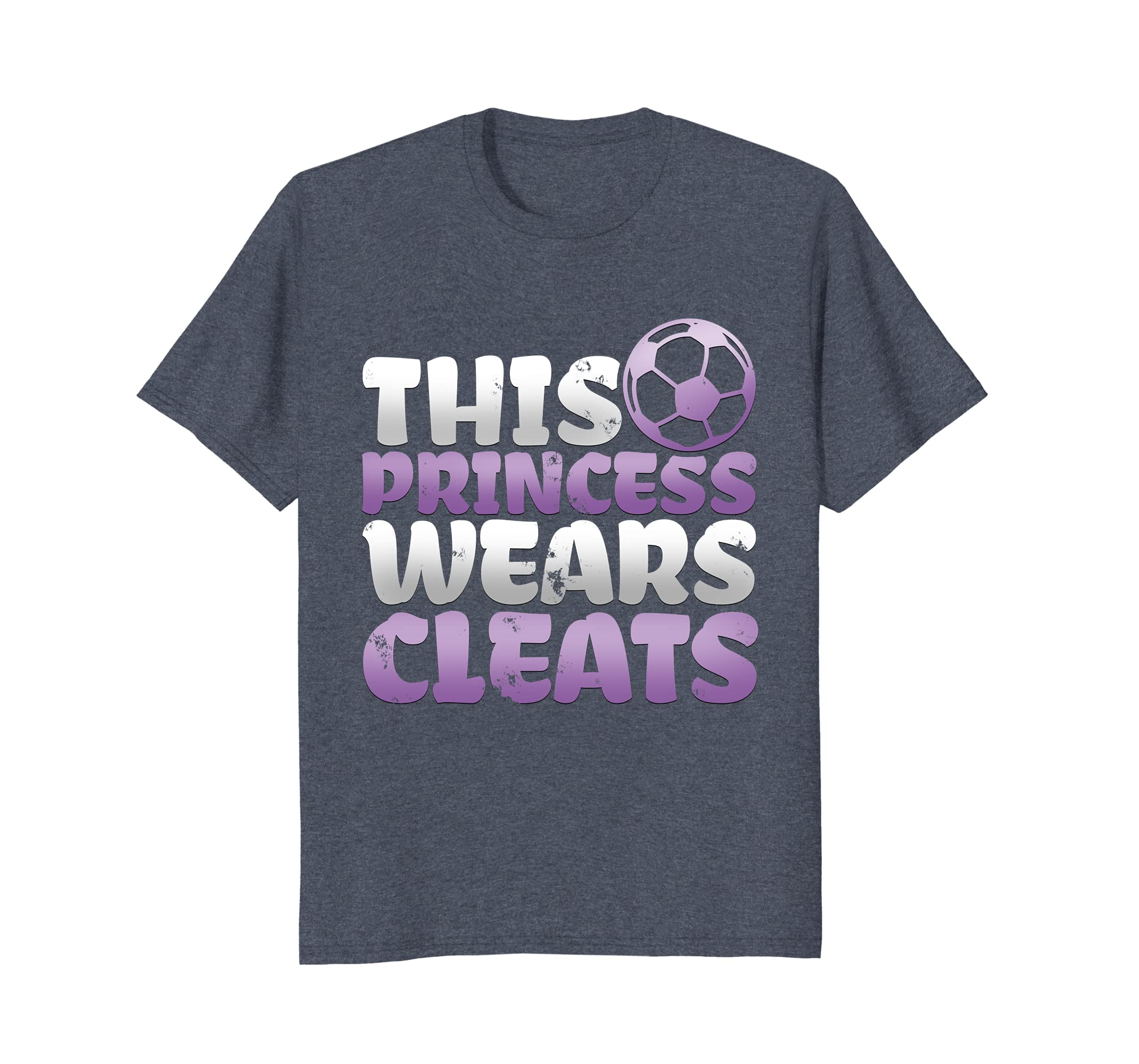 Girls Soccer T Shirt - This Princess Wears Cleats | MultiMv- Cool T ...