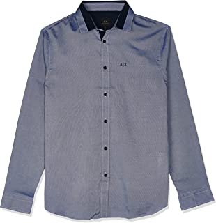 Armani Exchange Men's Shirt Blue, L