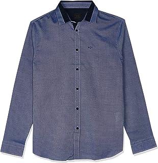 Armani Exchange Men's Shirt Blue, L