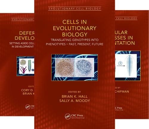 Evolutionary Cell Biology (8 Book Series)