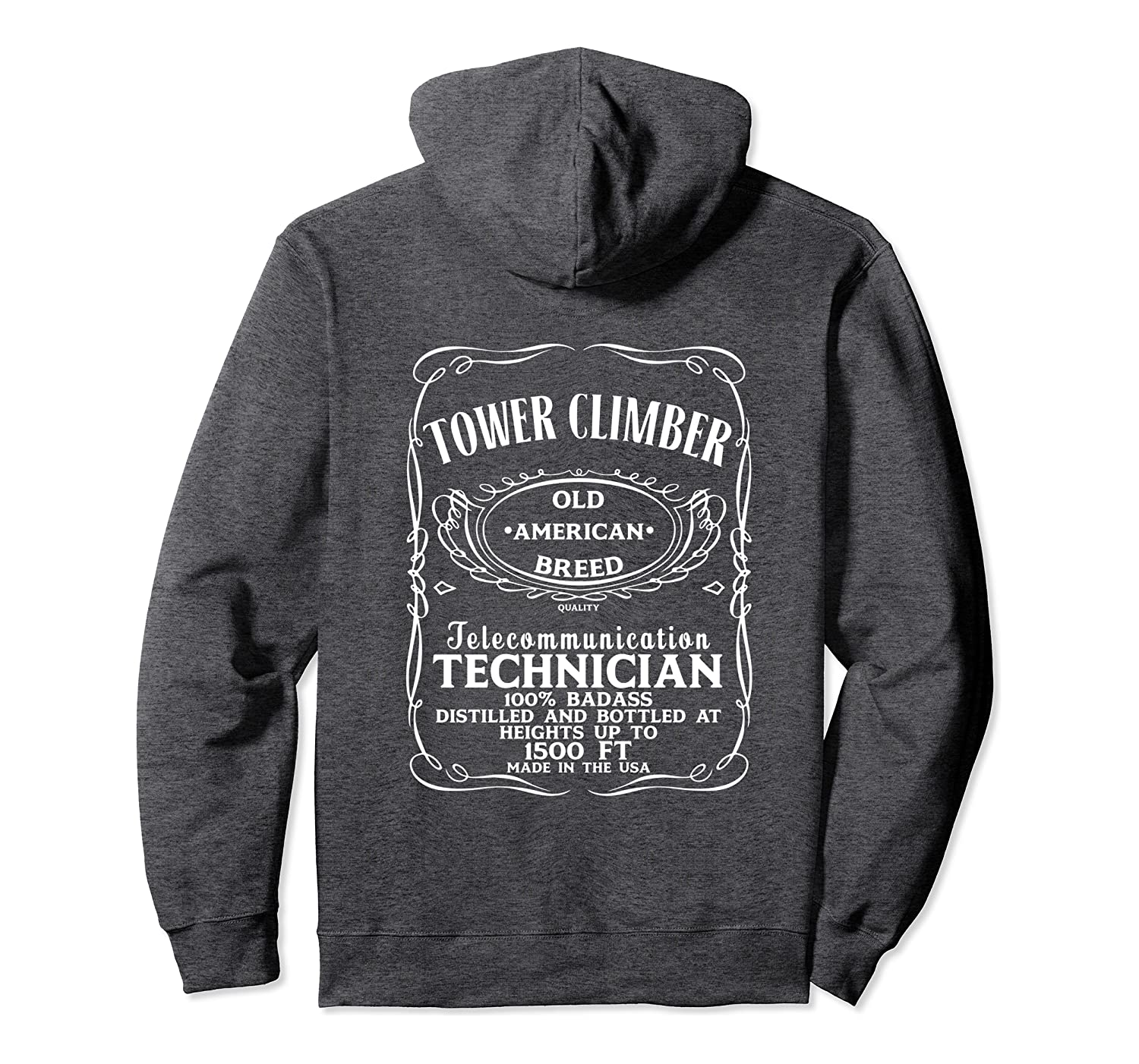 Amazon Com Tower Climbing Hoodie Clothing