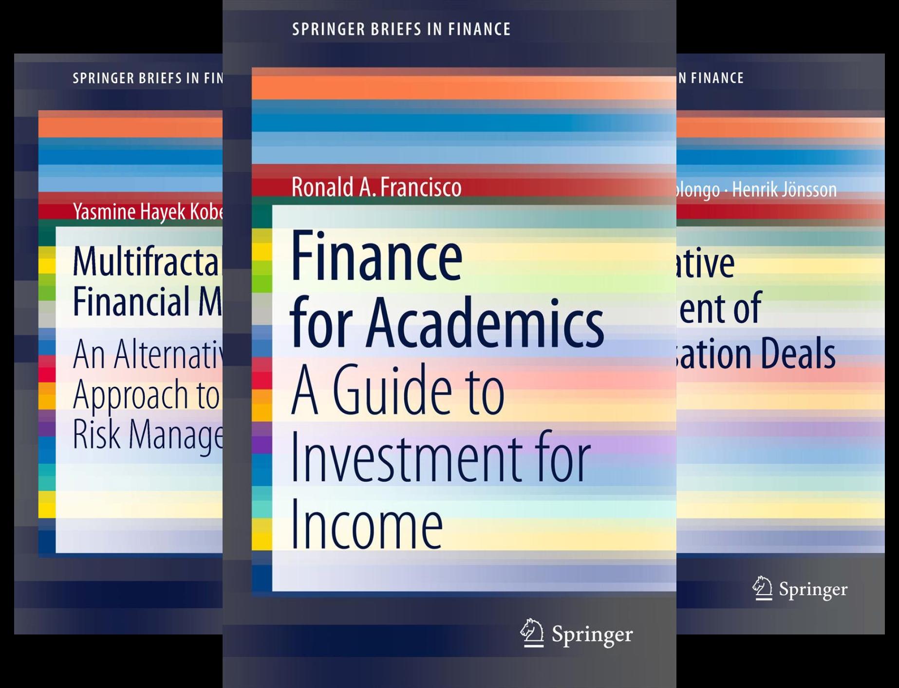 SpringerBriefs in Finance (26 Book Series)