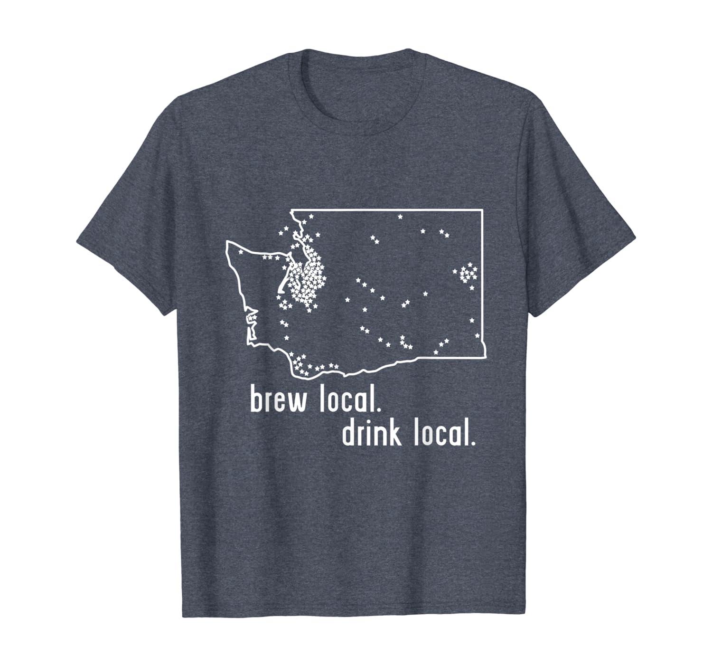 NO-LI Brewhouse ~ Spokane BEER Collectible STICKER WASHINGTON State Map Design