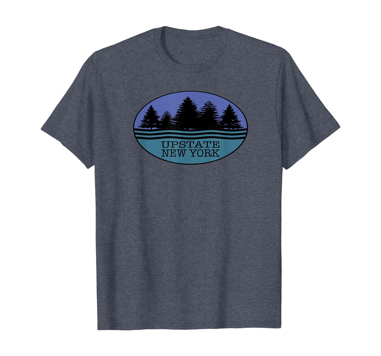 Upstate New York Souvenir I love Nature Outdoors T-Shirt