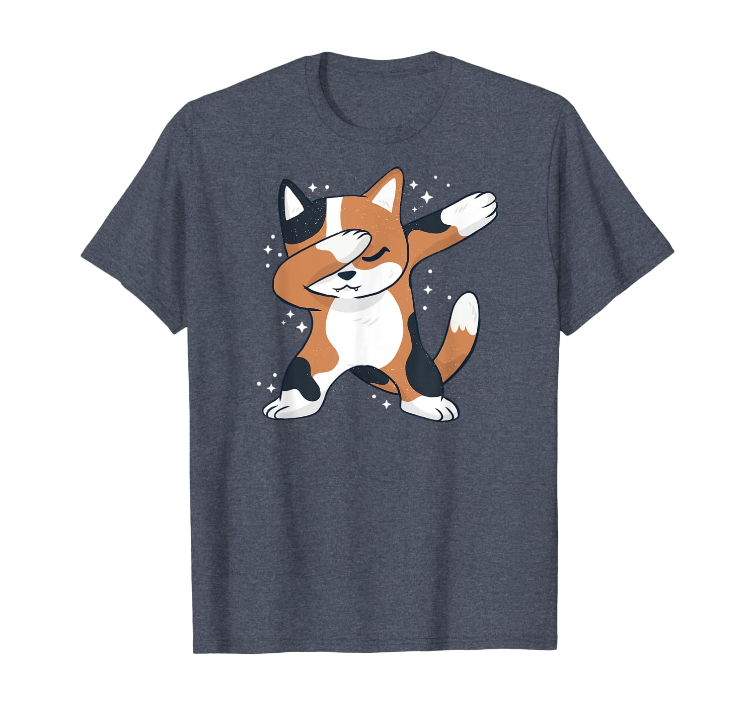 Cat In A Dab Dance Position – Funny Cat Dabbing T-shirt Unisex Tshirt