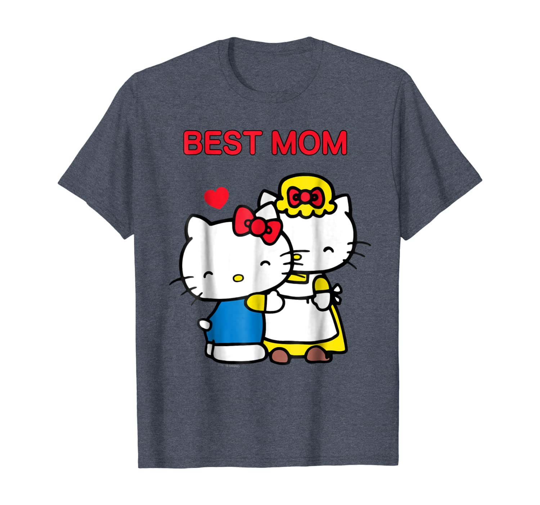 fm10 women/'s t-shirt HELLO KITTY 2 gattina momma CARTOON /& COMICS