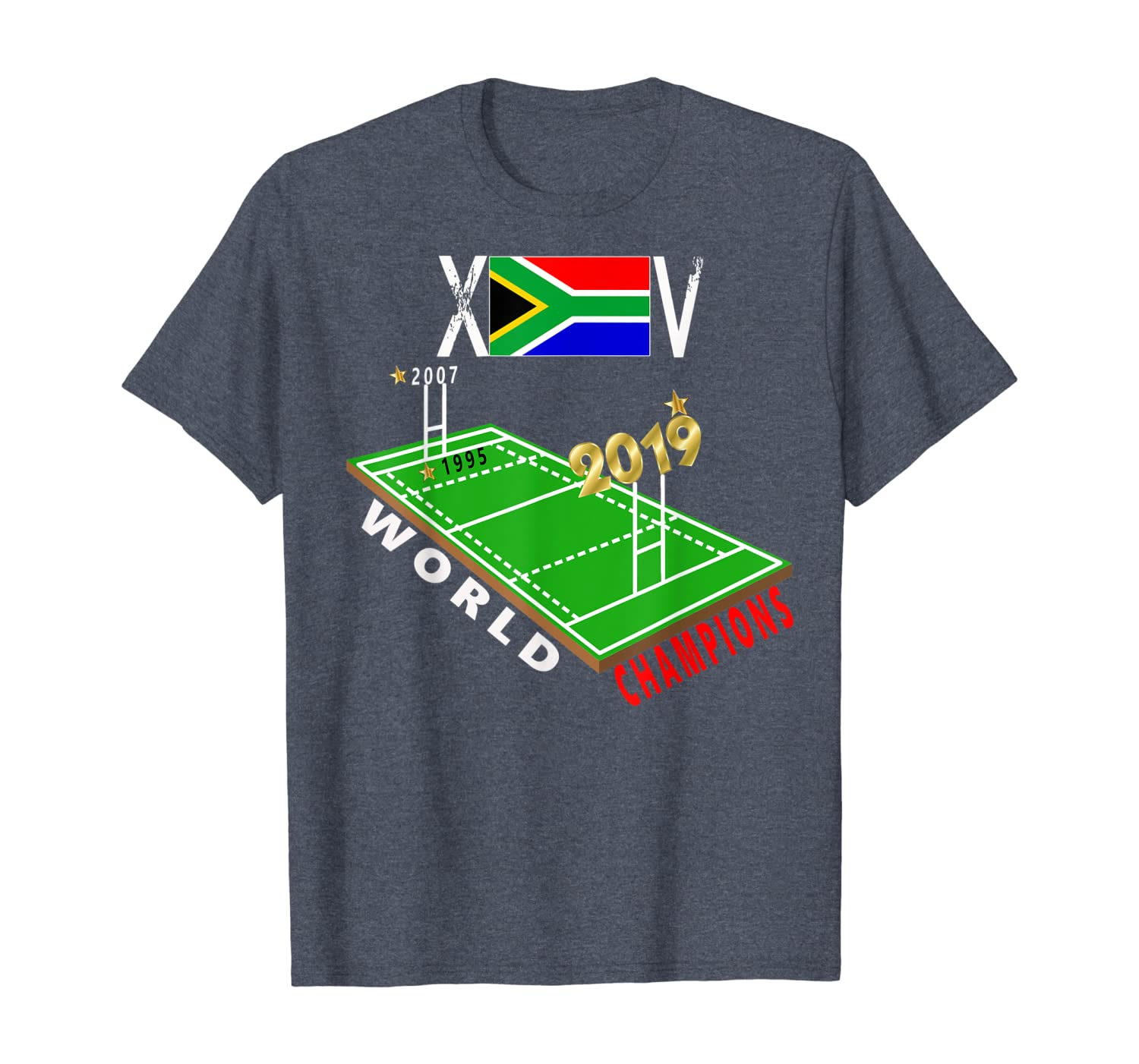 South Africa Rugby fan World Champions 2019 T-Shirt