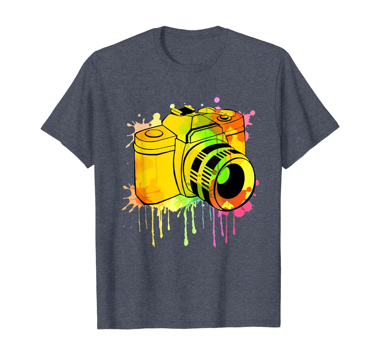 Photographe Photographie Appareil Photo Camera Cadeau T-Shirt