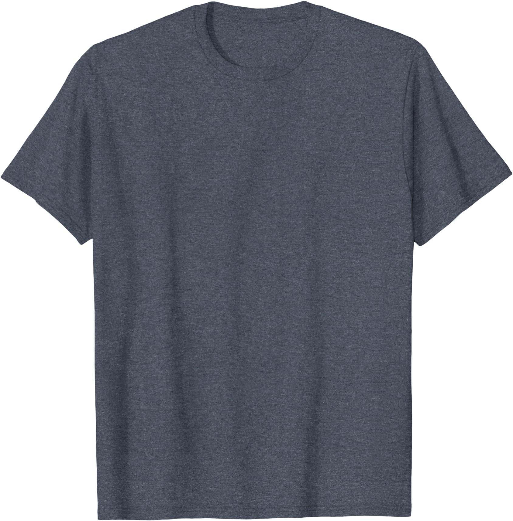 BUSHCRAFT DESIGN CASUAL BLACK CREW NECK T-SHIRT CAMPING BUSHCRAFT CLOTHING