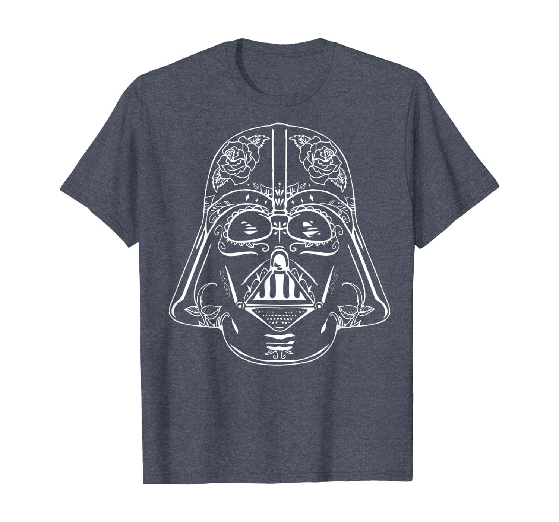darth vader sugar skull t shirt
