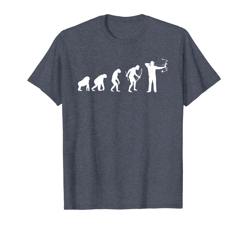 Funny Evolution of Archery Bow Hunting T-Shirt Unisex Tshirt