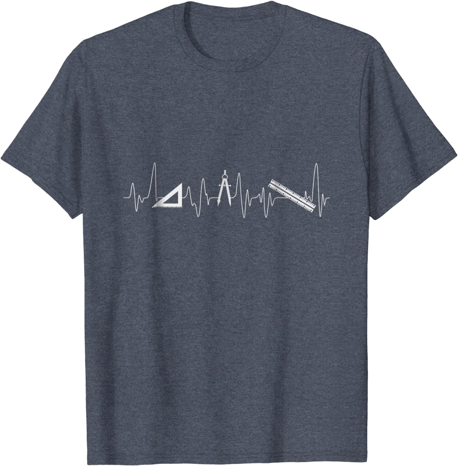 Architect T Shirt Architecture Tool Heartbeat Pulse-TH