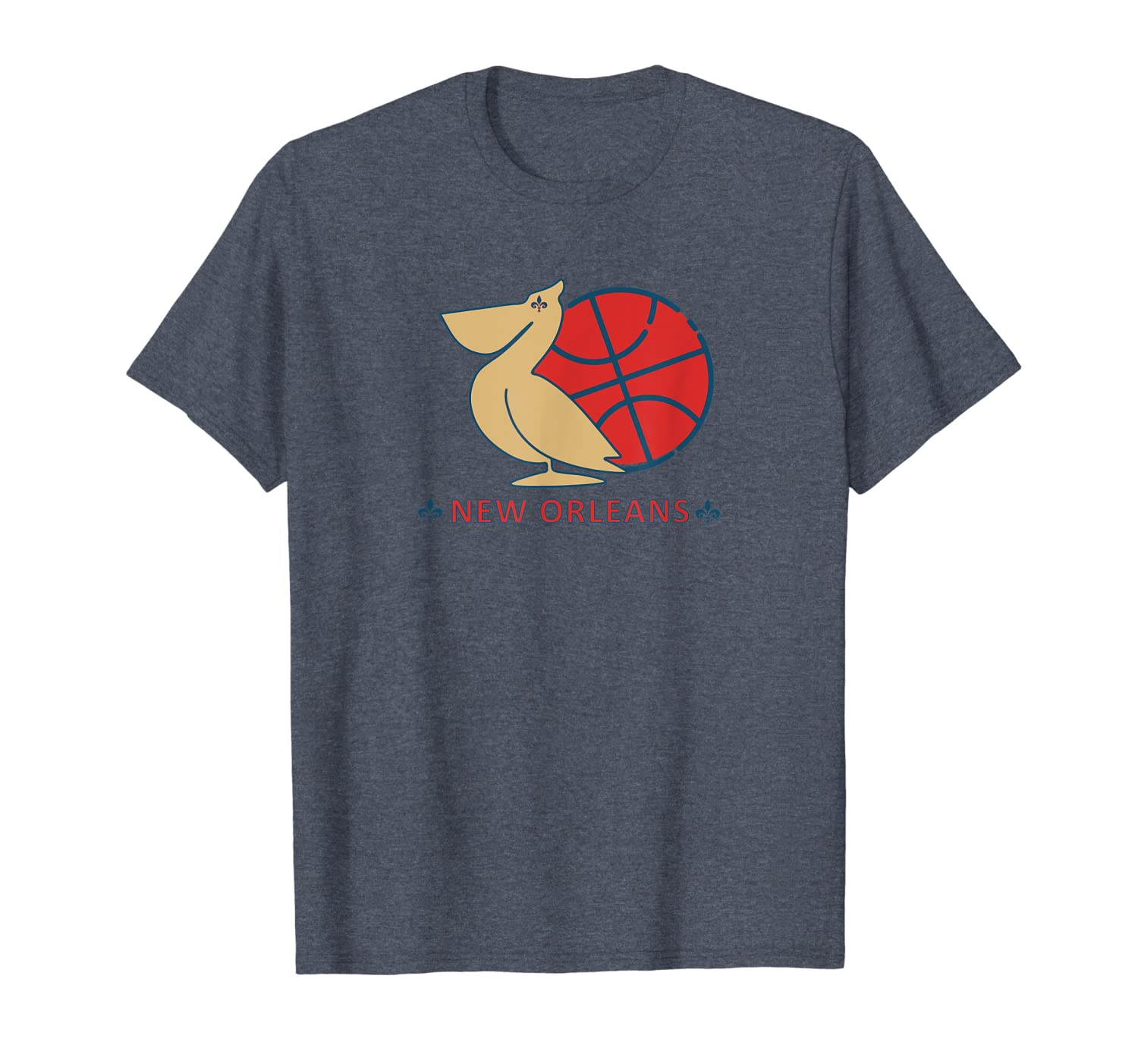 Amazon Com Pelican Fleur De Lis Shirt Basketball New