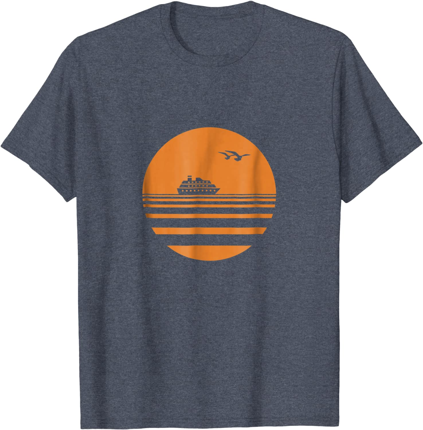 Amazon Com Mens Cruise Sunset Men S Cruise T Shirt Must Have Vacation Tee Clothing