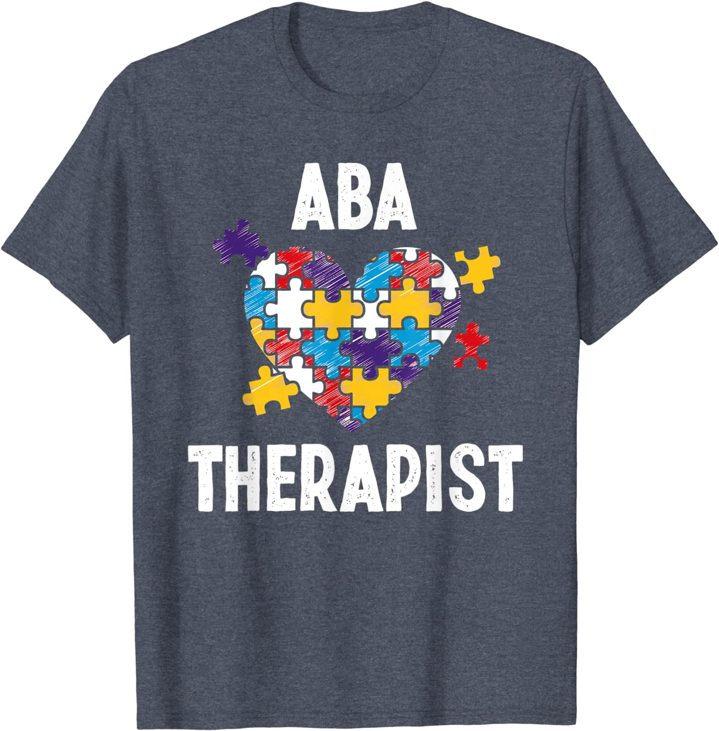 ABA Therapist Training Behavior Analyst Autism Therapy RBT T-Shirt-TH