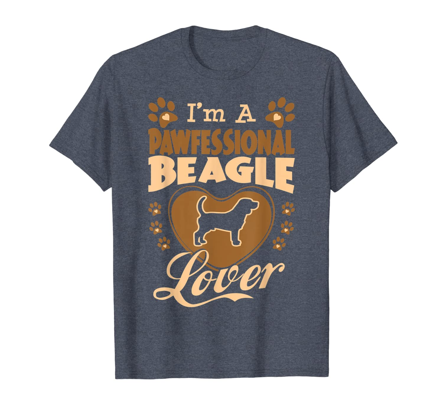 Pawfessional Beagle Dog Lover Valentine Gift T-shirt - Store Tshirt