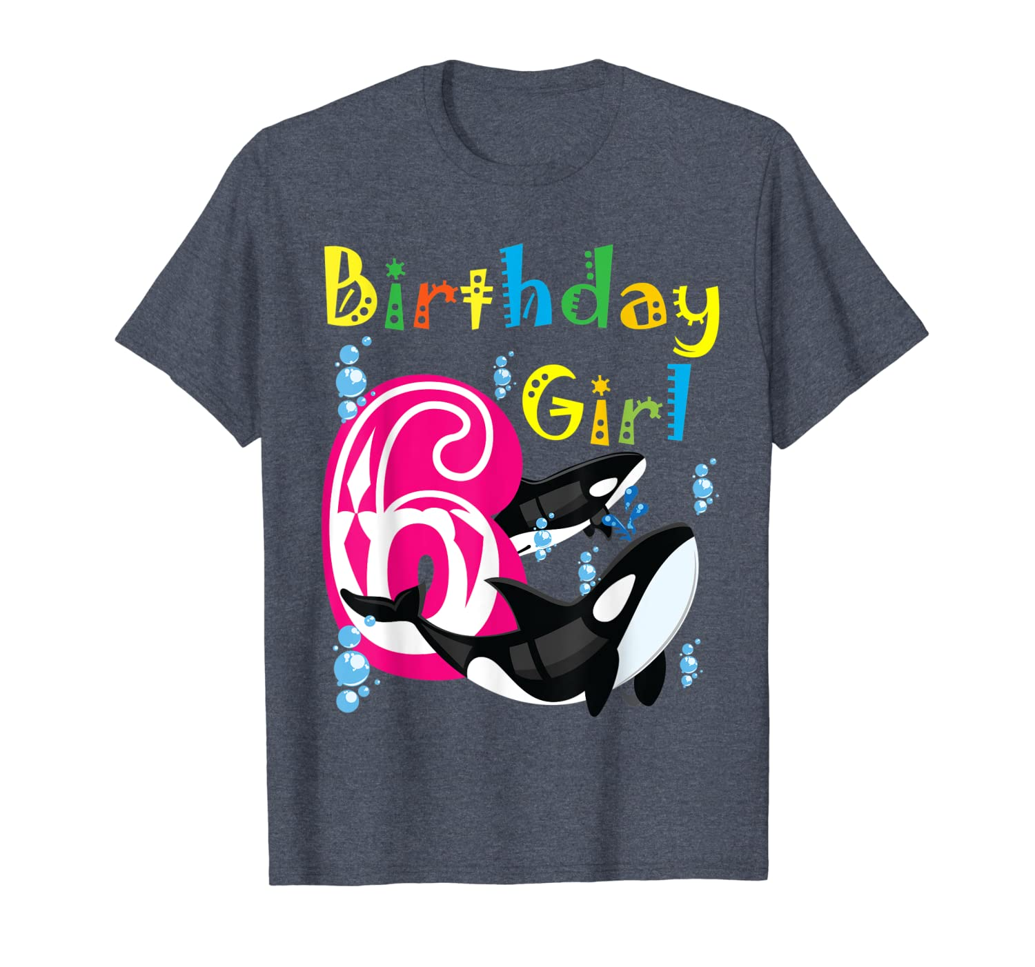 6 Birthday Girl & Killer Whale as Party Costume for Orcas-ANZ