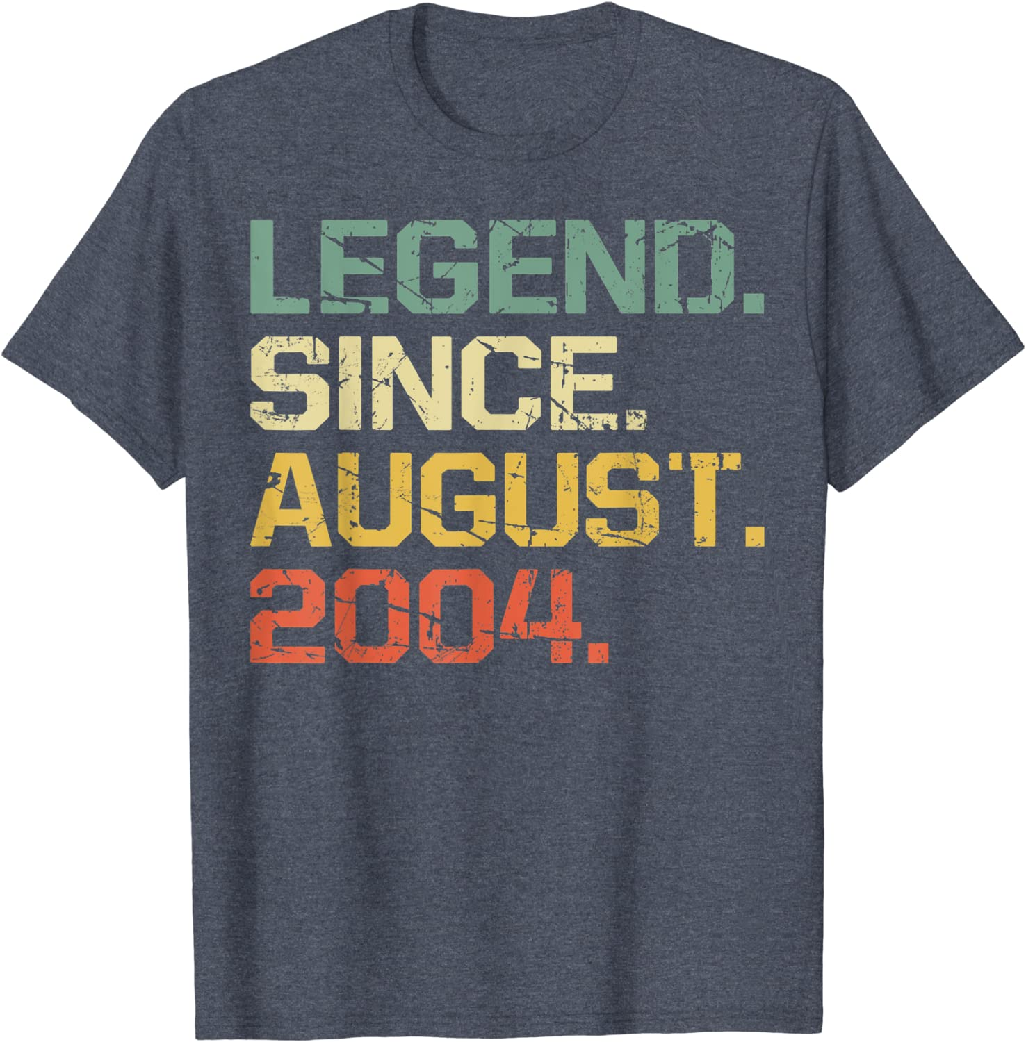 16th Birthday T-Shirt 2004 Legend Since Mens Funny 17 Year Old Unisex Tee Top