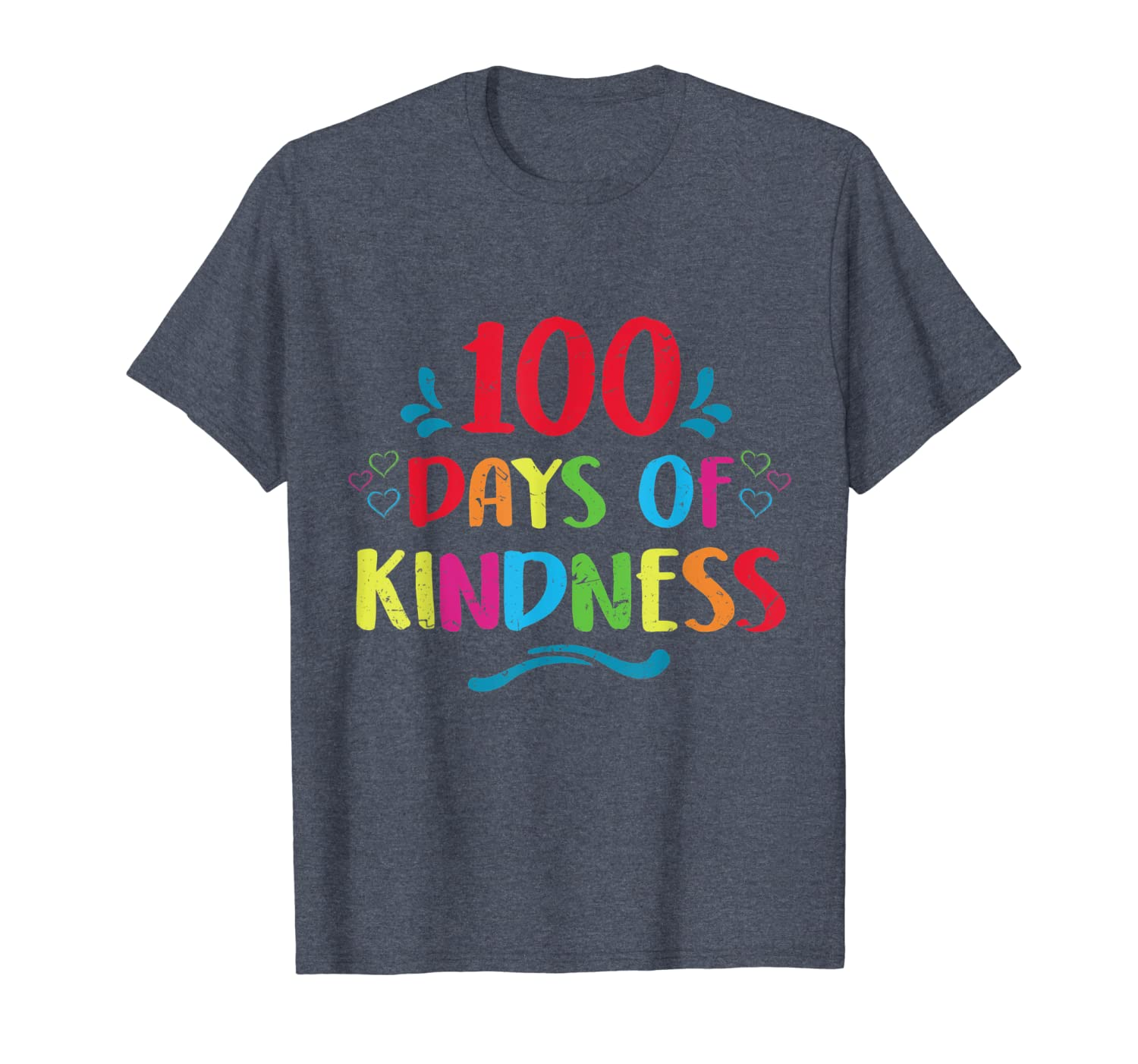 100 Days of Kindness 100th Day of School Costume Teachers T-Shirt Unisex Tshirt