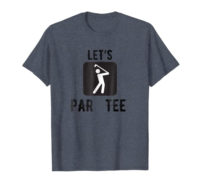 Amazon.com: Let s Par Tee Clubbing Funny palos de golf ...
