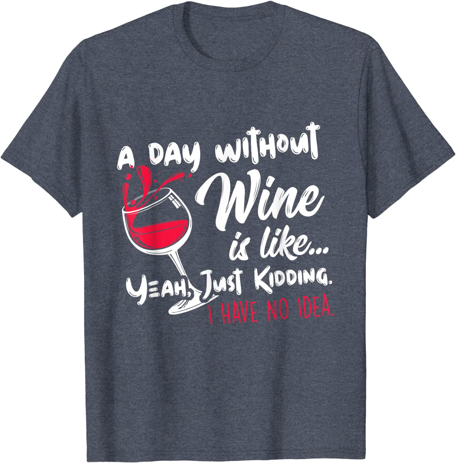 Wine Diet T-shirt I Love Wine Drinking Party Inappropriate Humorous Men/'s Tee