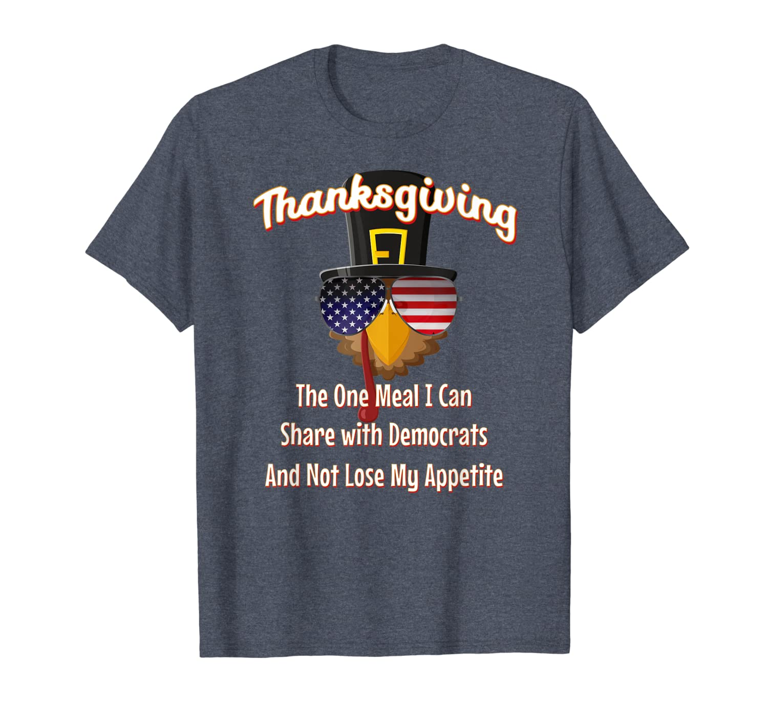 Thanksgiving Funny Political Humor Republican 2020 Gifts T-Shirt-TH