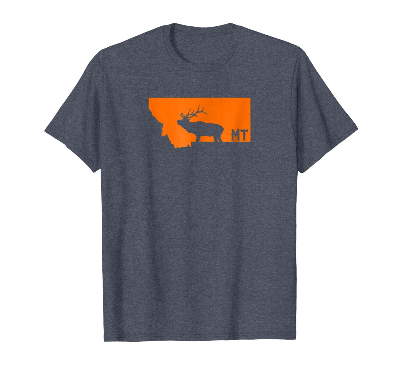 Montana Elk Hunting Shirt Unisex Tshirt