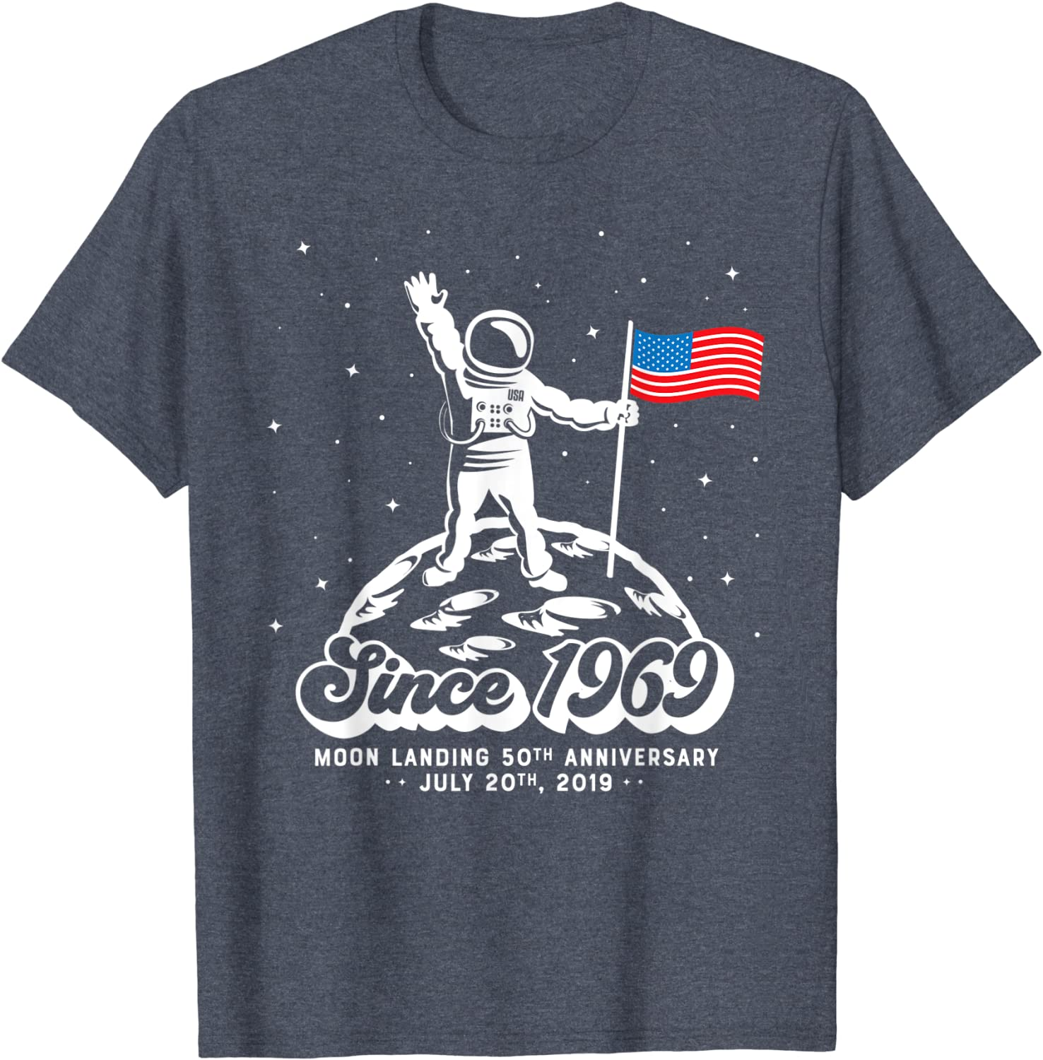 Retro Science Shirt Moon Landing 50th Anniversary Shirt Man On Moon 50 Years Space Lover Gift Apollo 11 T Shirt Vintage Coloring