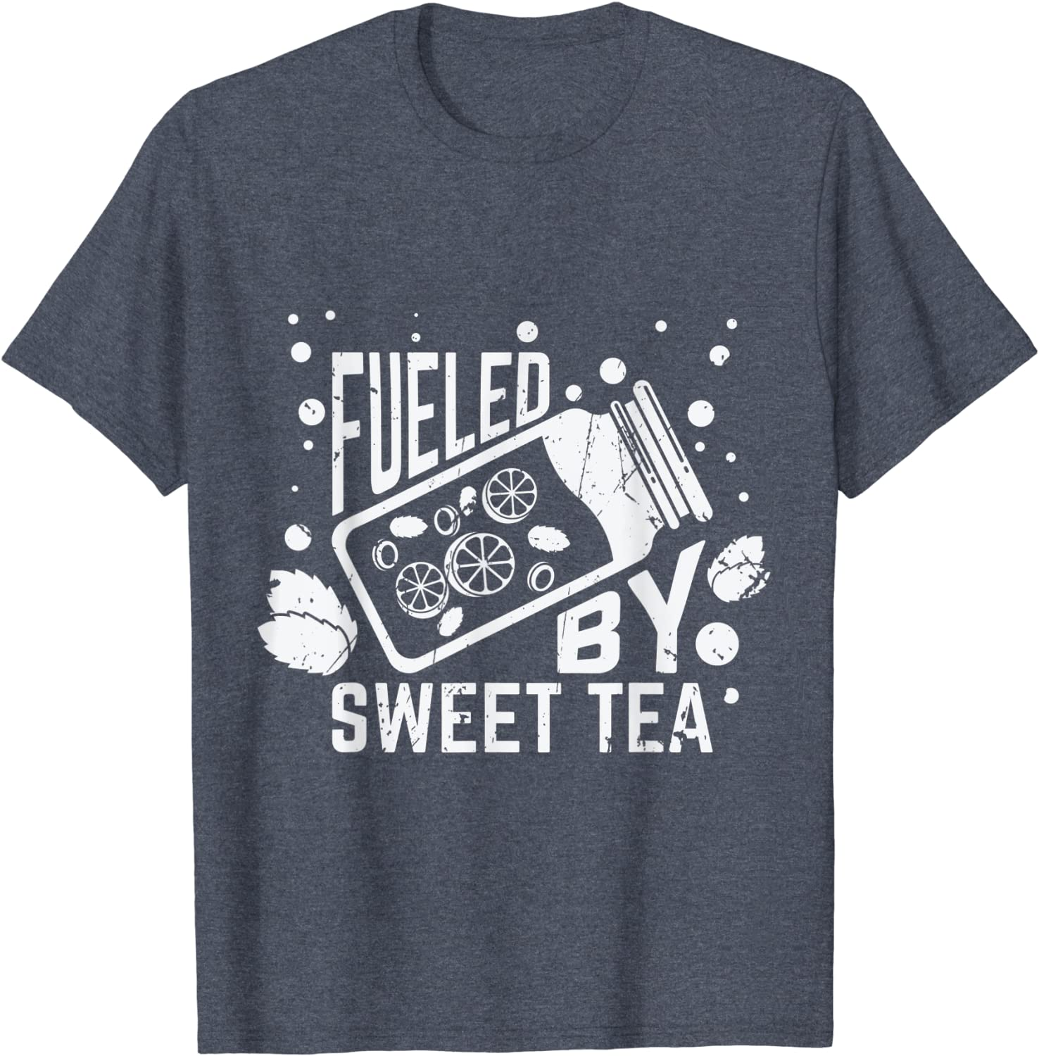Fueled By Sweet Tea I Funny Southern SC Gift Sweatshirt