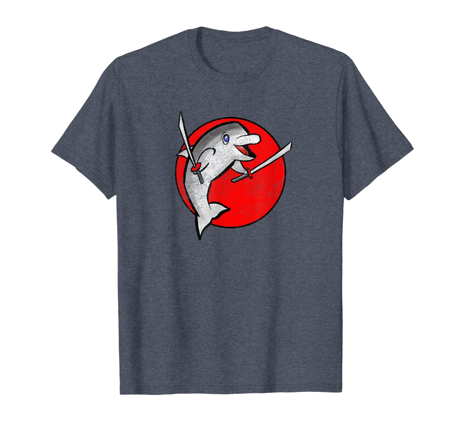 Amazon.com: Retro Ninja Dolphin Design by Turbo Volcano T ...