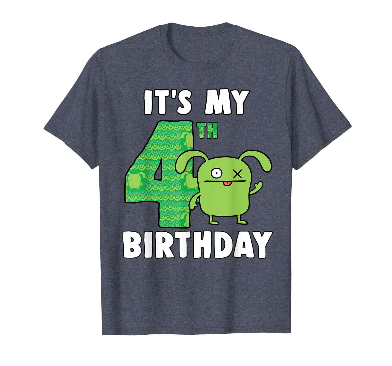 Ugly Dolls It's my 4th Birthday Ox Birthday Boy T-Shirt-TH