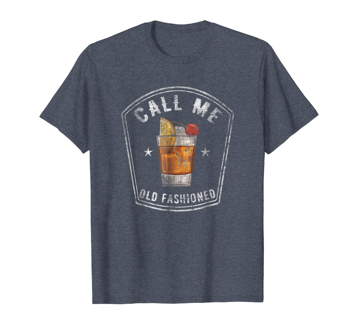 Call Me Old Fashioned Whiskey Bourbon Funny Vintage T-Shirt Unisex Tshirt