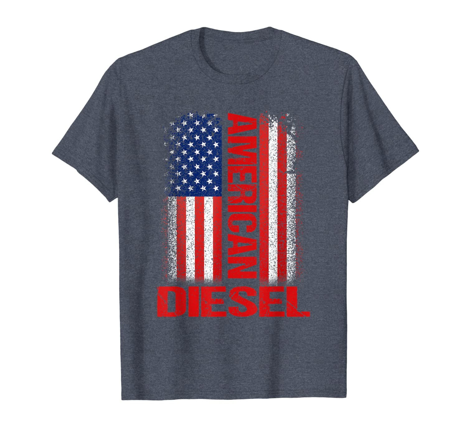 American Diesel Flag Tee Truck Turbo Brothers T-Shirt-ANZ