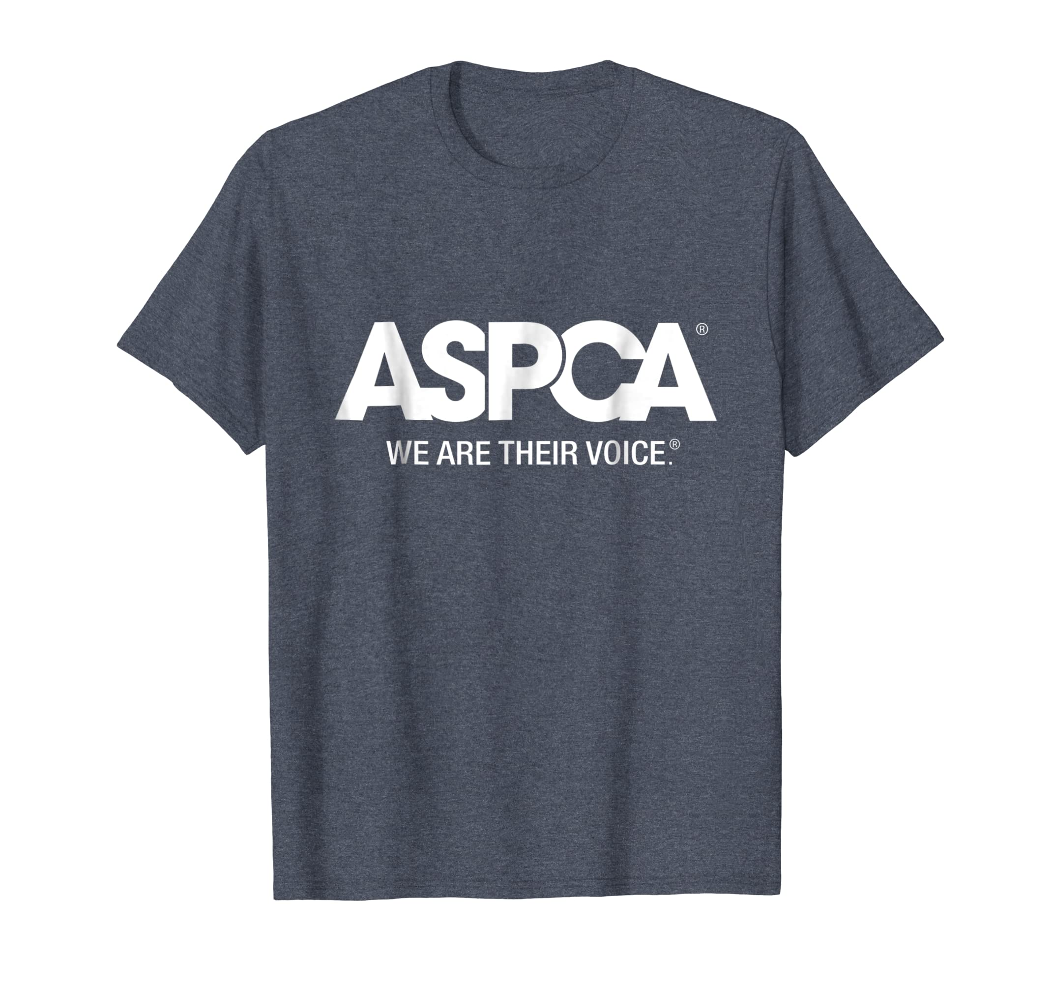 ASPCA We Are Their Voice Logo T-Shirt Heather-Yolotee