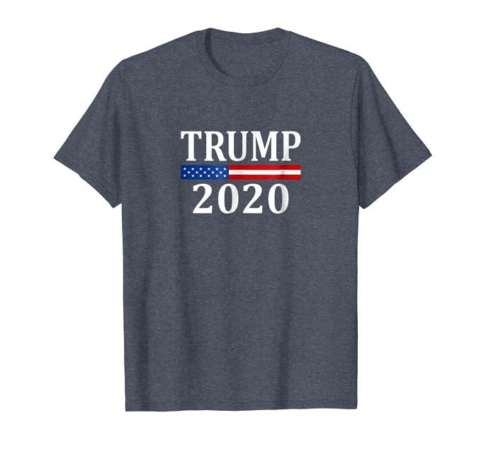 555f91e5 Amazon.com: Trump 2020 T-shirt - T1104: Clothing