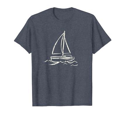 19235f9f Amazon.com: Nautical t shirt, Boating shirt, Sailboat t-shirt Sailing:  Clothing