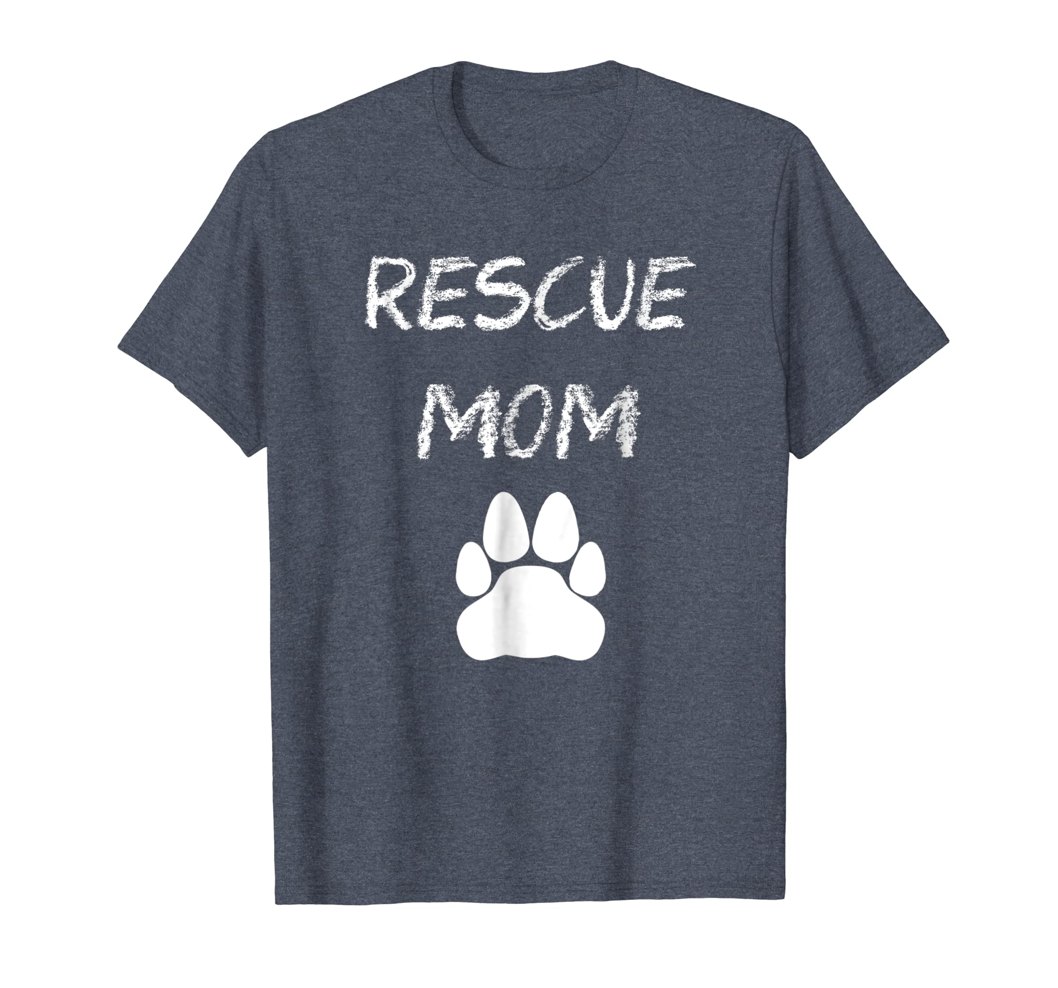 Animal Rescue Mom Cat Paw T-shirt-SFL