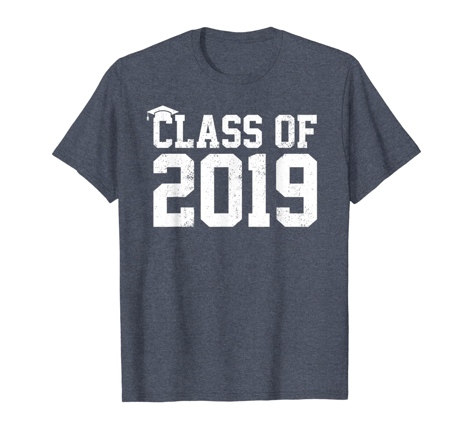Class Of 2019 Graduation T-Shirt Senior High School College-ANZ