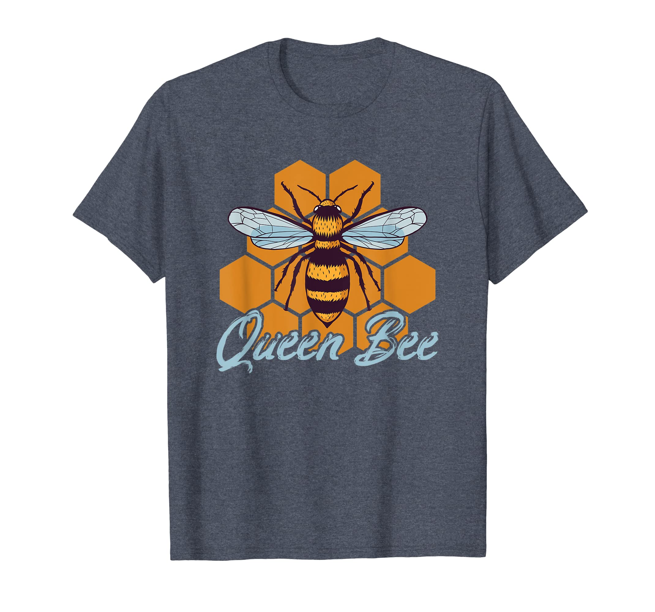 a223083ff Amazon.com: Queen Bee Beehive Mother's Day Gift Shirt For Beekeepers:  Clothing