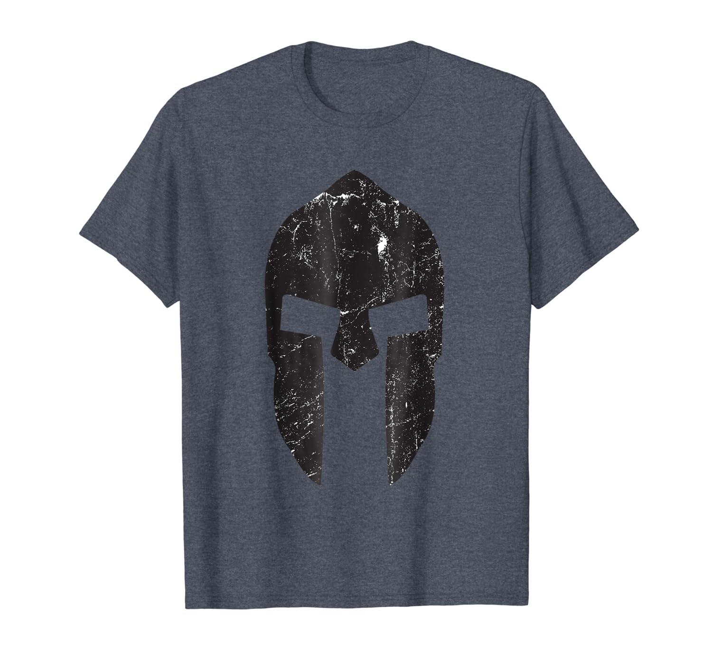 b96a1d08a2aa3 Amazon.com: Spartan-Race T-Shirt Warrior Helmet Gym Motivation ...