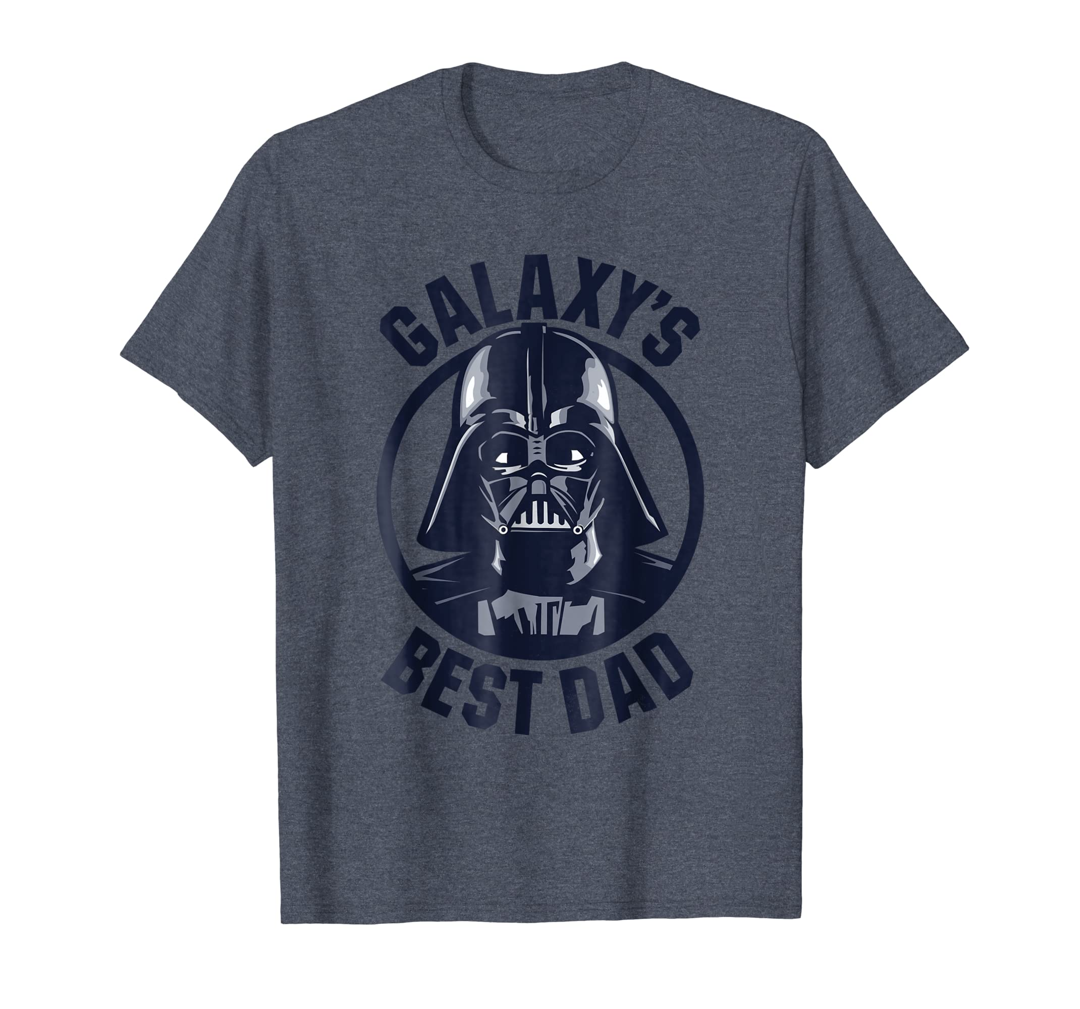 85c02e8c Amazon.com: Star Wars Darth Vader Galaxy's Best Dad Graphic T-Shirt:  Clothing