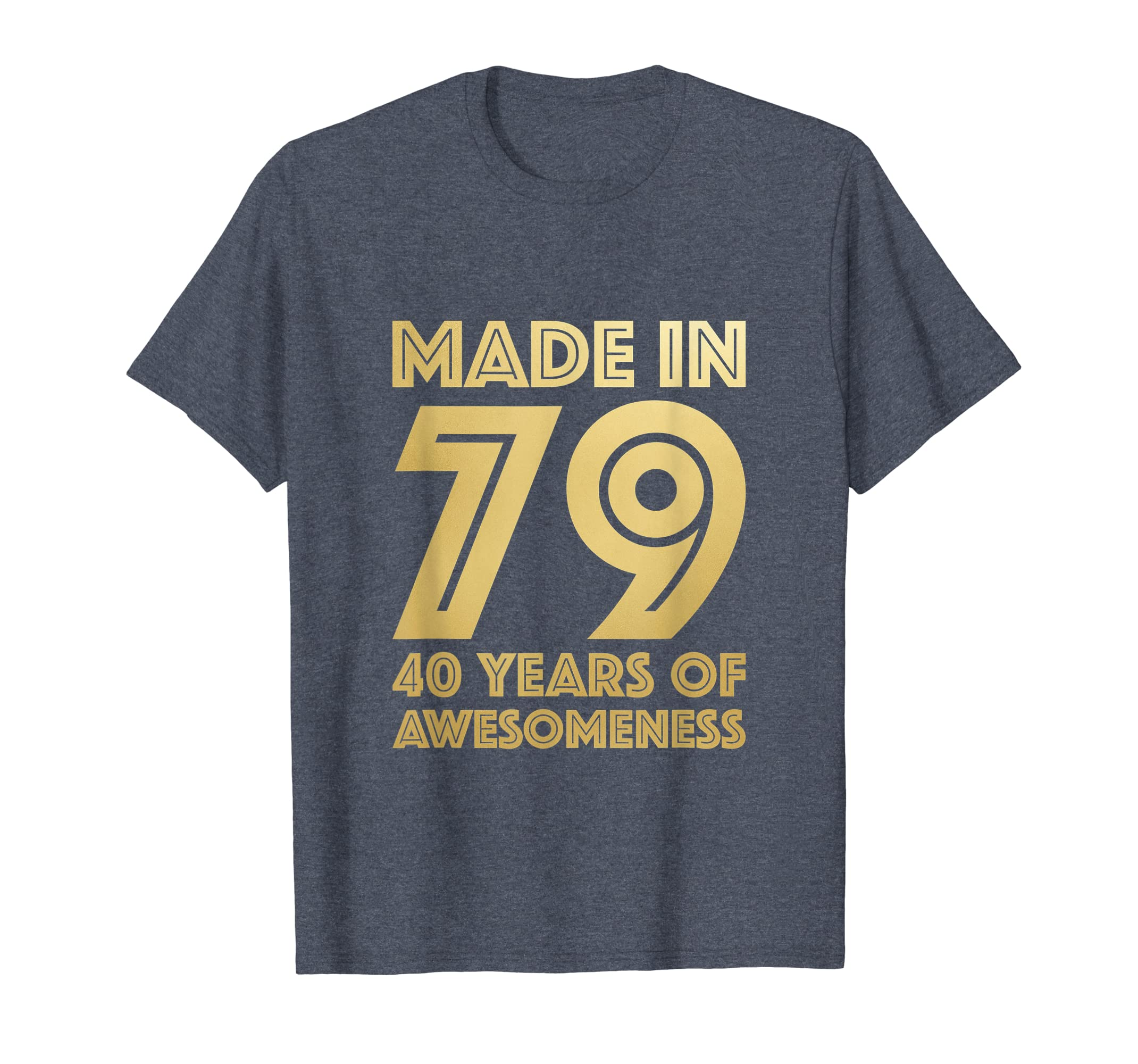 Amazon 40th Birthday Shirt Men Women Age 40 Sister Brother Gifts Clothing