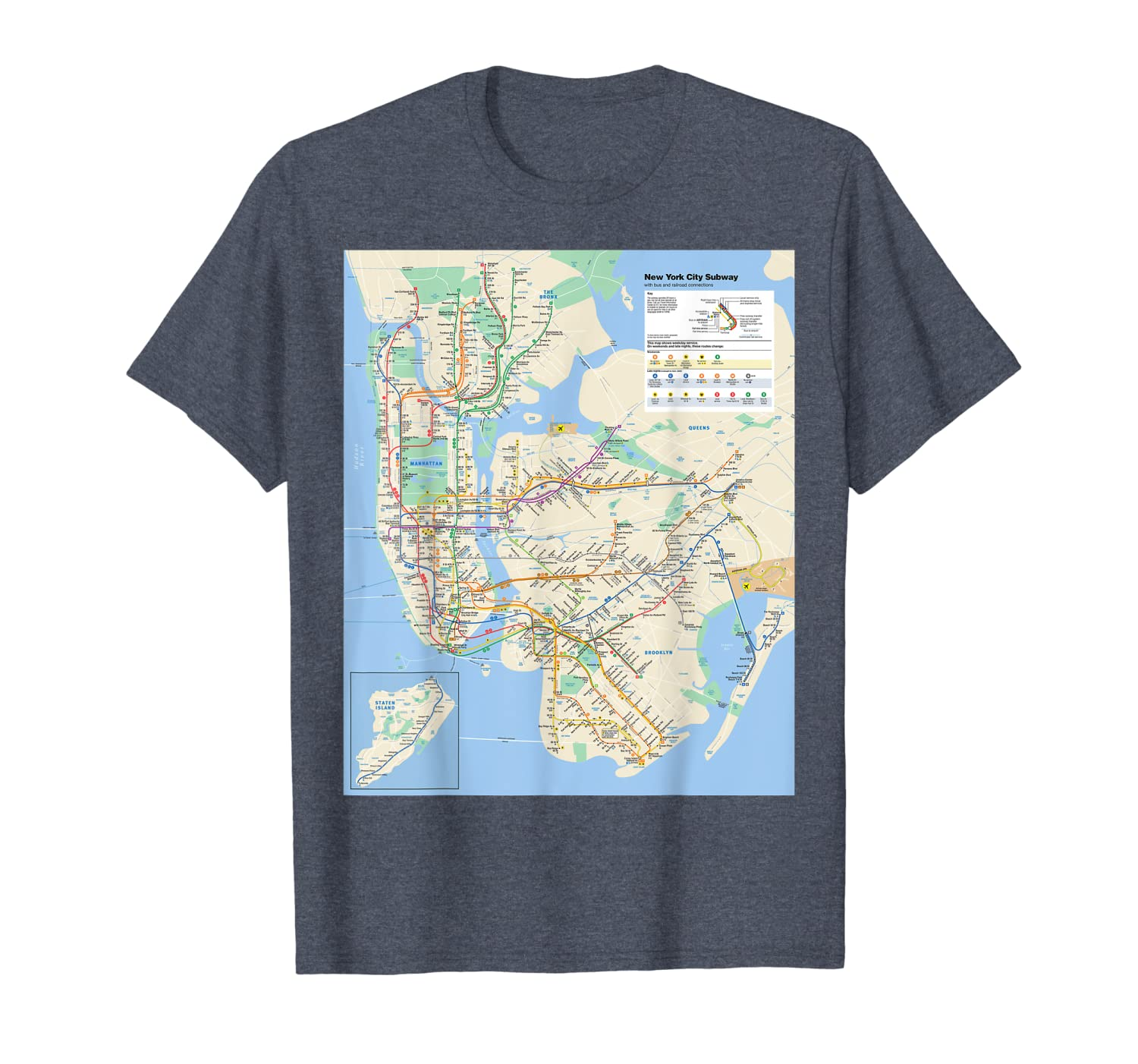 Nyc Subway Map T Shirt.New York City Subway Map Nyc Usa T Shirt Missionsea Cool T
