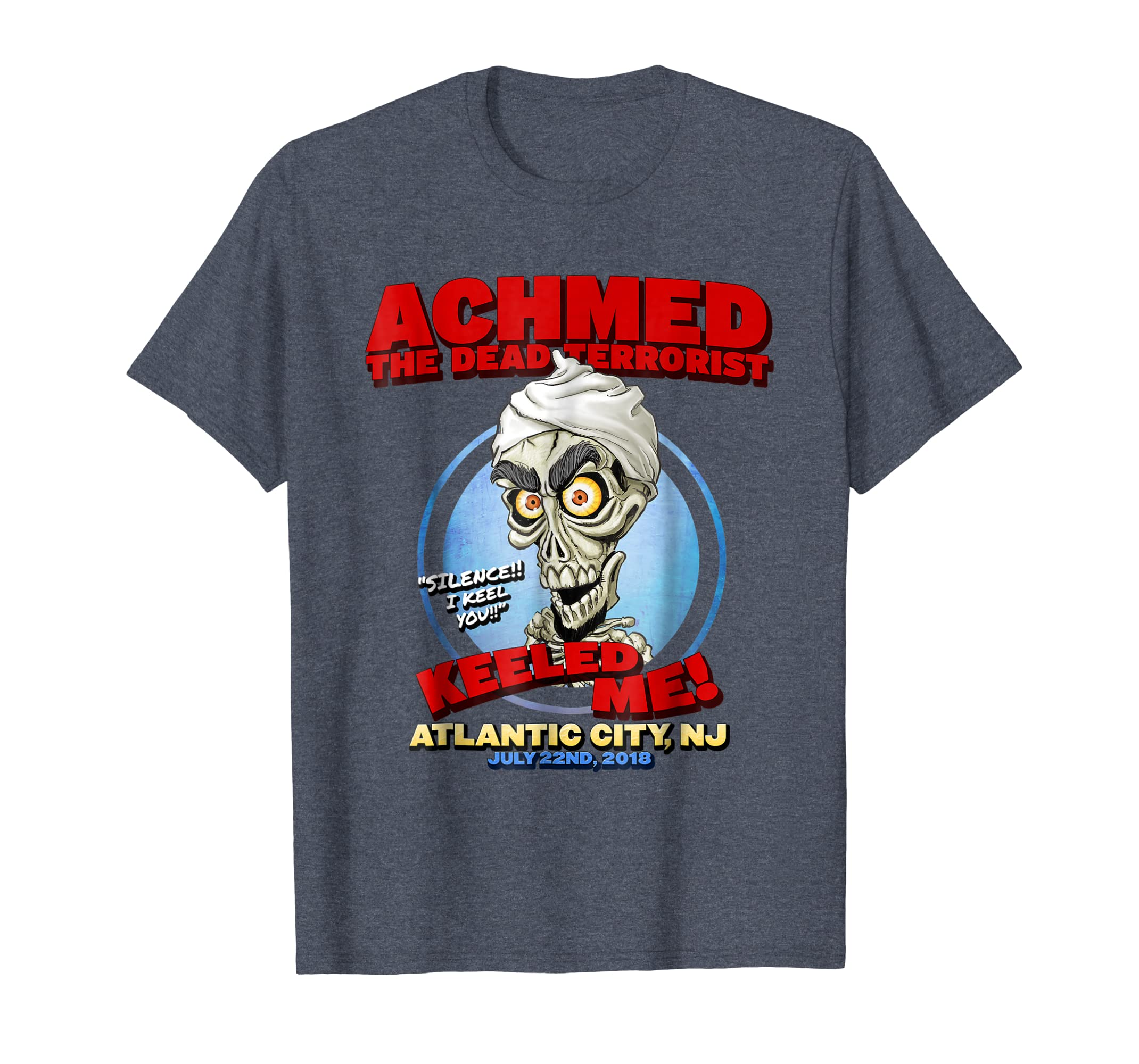 Achmed The Dead Terrorist Atlantic City, NJ Shirt-mt