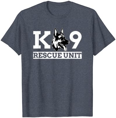 NA Fan Tshirt Gift K9 Rescue Unit K9 Police Dog K9 Handler